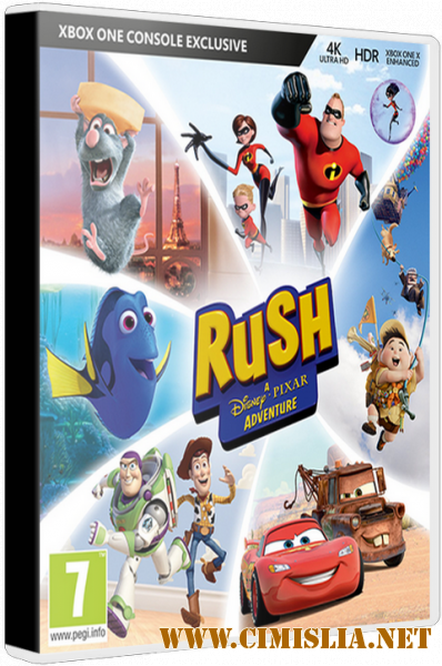 Rush: A Disney Pixar Adventure [Repack] [2018 / RUS / ENG / MULTI18]