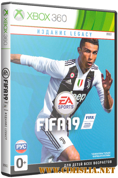 FIFA 19: Legacy Edition [XBOX360] [2018 / ENG / RUS]