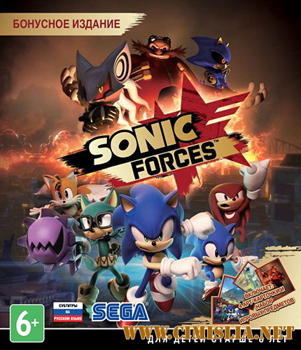 Sonic Forces [v 1.04.79 + 6 DLC] [Repack] [2017 / RUS / ENG / MULTI11]