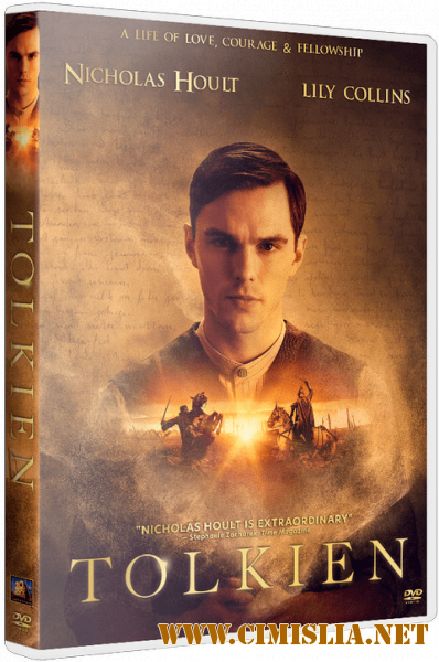 Толкин / Tolkien [2019 / BDRip | Лицензия]