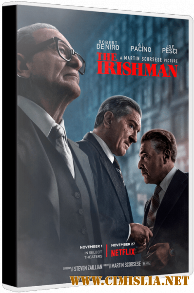 Ирландец / The Irishman [2019 / WEB-DLRip]