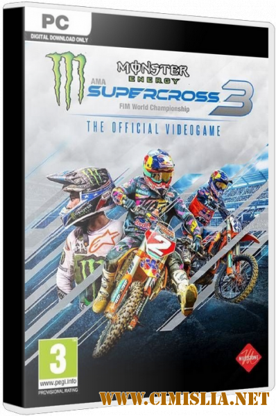 Monster Energy Supercross - The Official Videogame 3 [Repack] [2020 / ENG / MULTI]