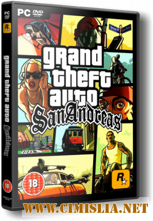 GTA / Grand Thet Auto: San Andreas [MultiPlayer v0.3d] [RePack] [2011 / RUS]